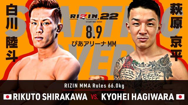 画像8: RIZIN.22 FIGHT CARD