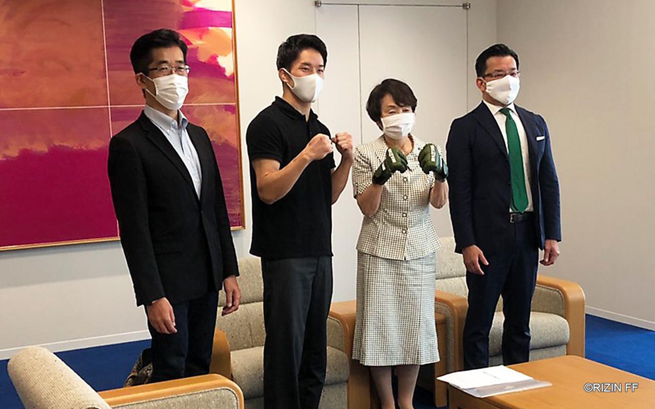 画像: 神奈川県横浜市長に新型コロナウイルス感染症対策を説明