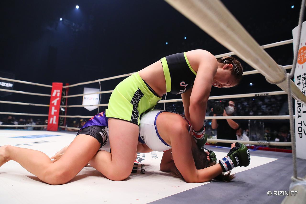 画像1: 【試合結果】RIZIN.22 - STARTING OVER - 第7試合/浅倉カンナ vs. 古瀬美月 - RIZIN FIGHTING FEDERATION オフィシャルサイト