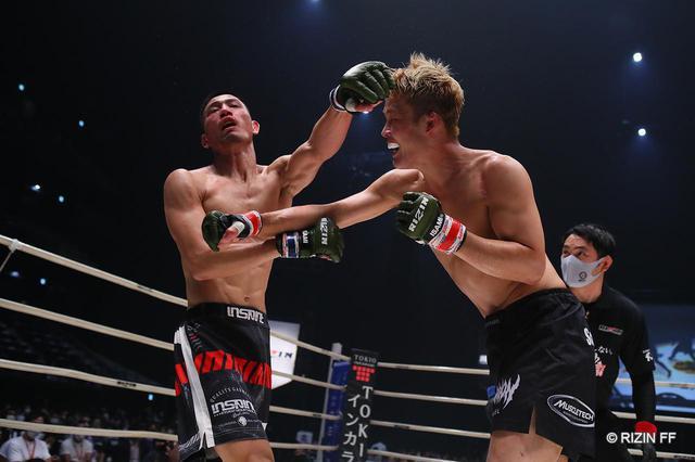 画像2: 【試合結果】RIZIN.22 - STARTING OVER - 第3試合/関鉄矢 vs. 神田コウヤ - RIZIN FIGHTING FEDERATION オフィシャルサイト