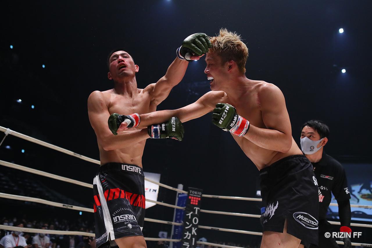 画像1: 【試合結果】RIZIN.22 - STARTING OVER - 第3試合/関鉄矢 vs. 神田コウヤ - RIZIN FIGHTING FEDERATION オフィシャルサイト
