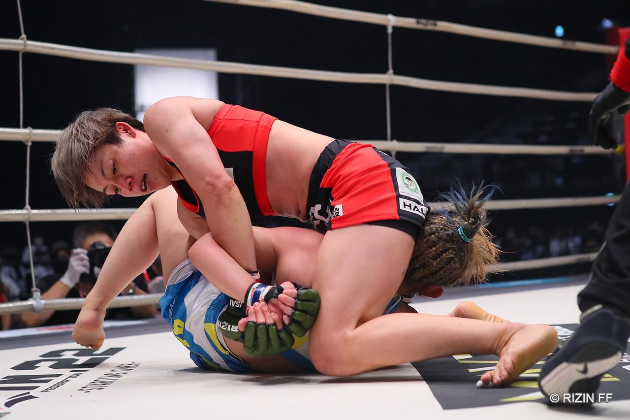 画像1: 【試合結果】RIZIN.22 - STARTING OVER - 第8試合/浜崎朱加 vs. 前澤智 - RIZIN FIGHTING FEDERATION オフィシャルサイト