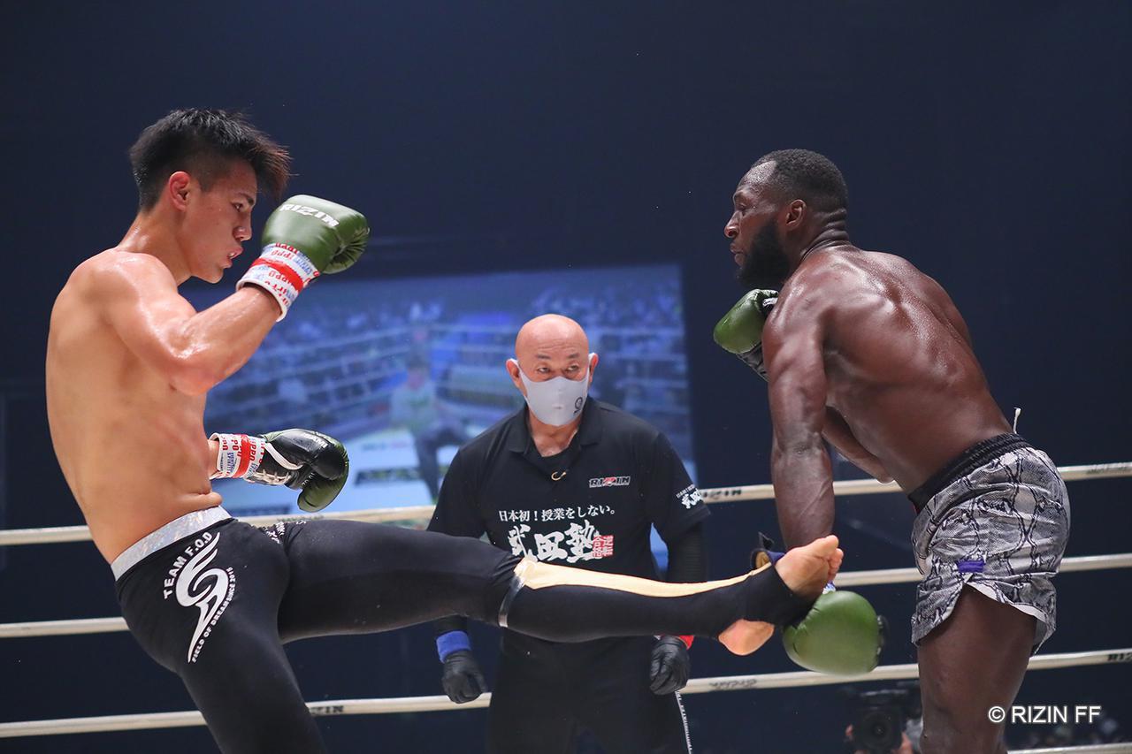 画像1: 【試合結果】RIZIN.23 - CALLING OVER - 第3試合/海人 vs. ロクク・ダリ - RIZIN FIGHTING FEDERATION オフィシャルサイト