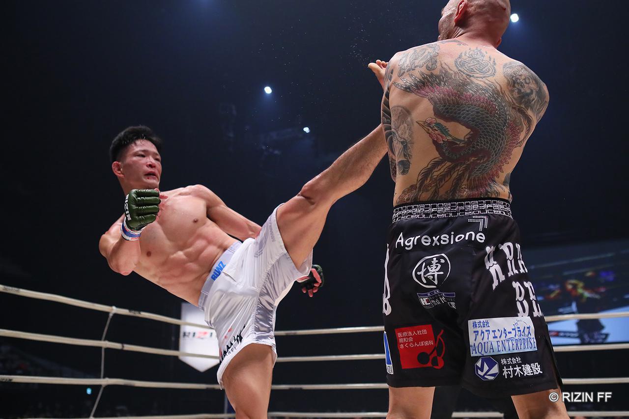 画像1: 【試合結果】RIZIN.23 - CALLING OVER - 第5試合/朴光哲 vs. 青井人 - RIZIN FIGHTING FEDERATION オフィシャルサイト