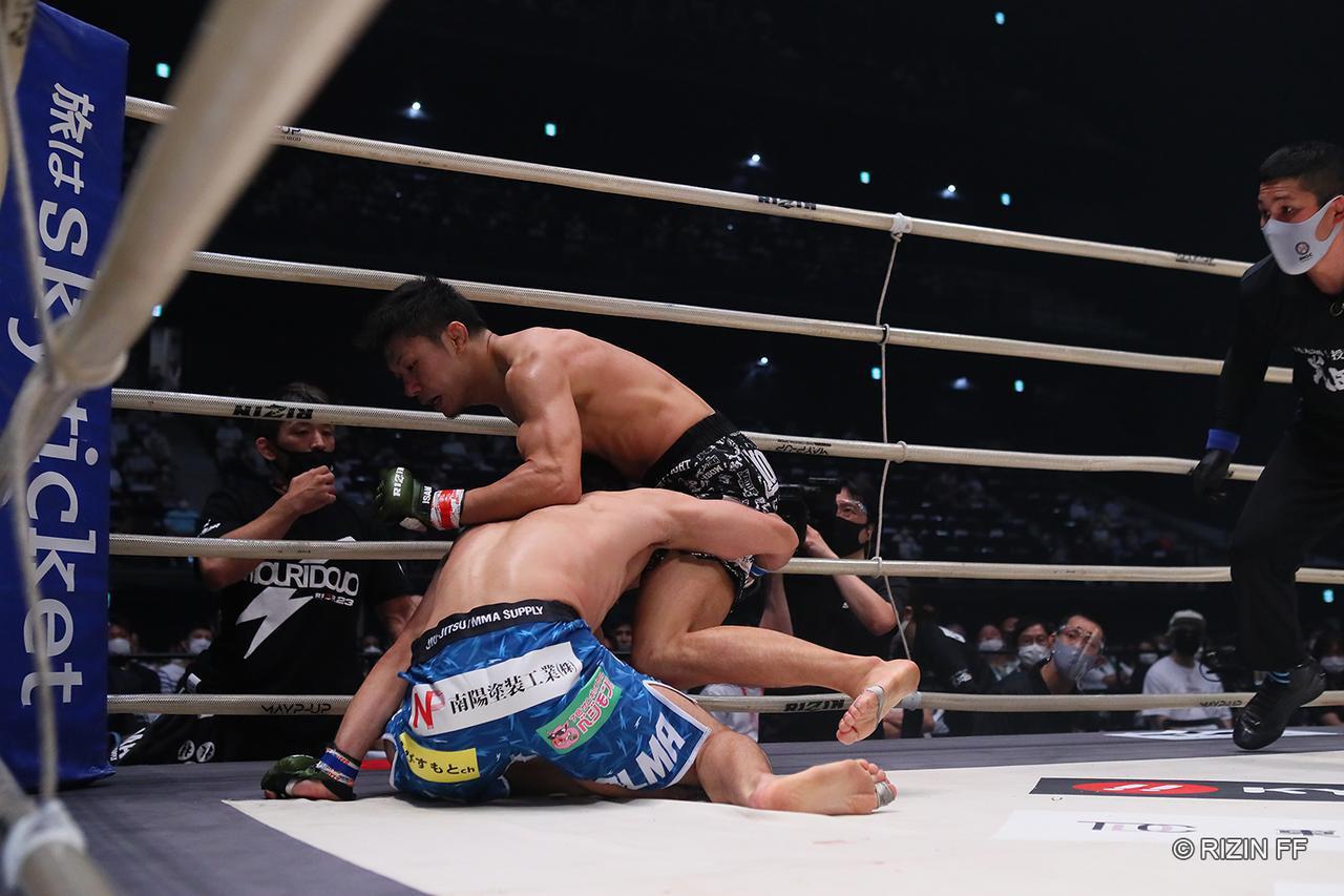 画像: 【試合結果】RIZIN.23 - CALLING OVER - 第7試合/斎藤裕 vs. 摩嶋一整 - RIZIN FIGHTING FEDERATION オフィシャルサイト