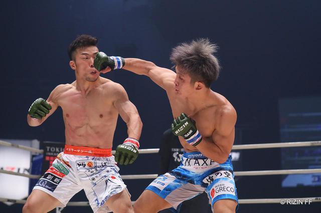 画像1: 【試合結果】RIZIN.23 - CALLING OVER - 第2試合/中村優作 vs. 竿本樹生 - RIZIN FIGHTING FEDERATION オフィシャルサイト