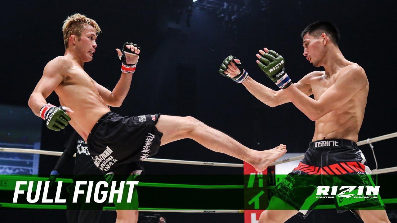 画像: Full Fight | 関鉄矢 vs. 神田コウヤ / Tetsuya Seki vs. Kouya Kanda - RIZIN.22 youtu.be