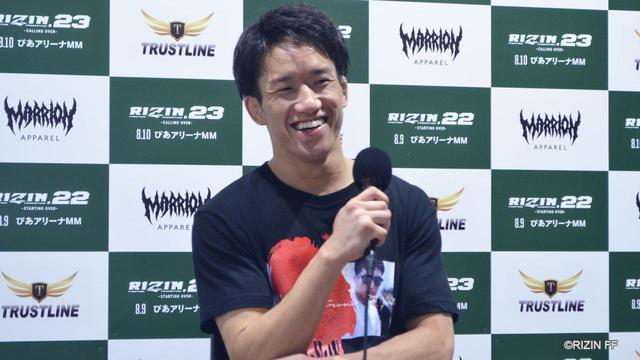 画像: 朝倉海「僕だけ攻撃を当てられる距離で闘うようにしていた」RIZIN.23 - CALLING OVER - 試合後インタビュー vol.3 - RIZIN FIGHTING FEDERATION オフィシャルサイト