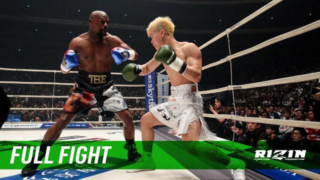 画像: Full Fight | フロイド・メイウェザー vs. 那須川天心 / Floyd Mayweather vs. Tenshin Nasukawa - RIZIN.14 youtu.be