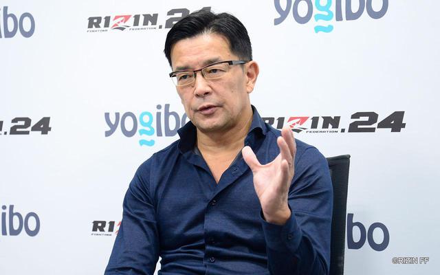 画像: 榊原CEO「決まったからには二人に最高の試合を見せてもらいたい」