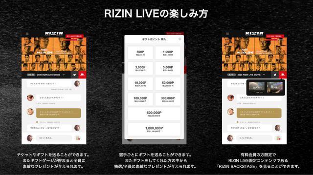 画像1: RIZIN LIVEとは?