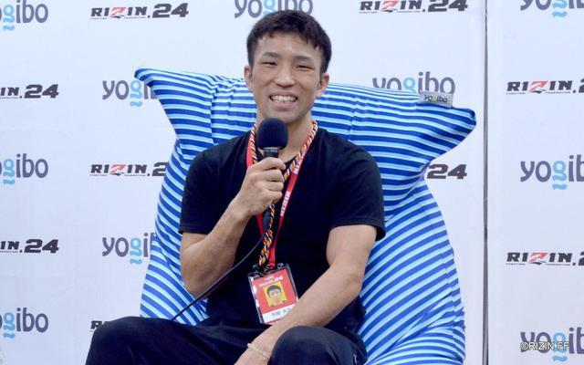 画像: 平塚大士「RIZINの大舞台でKOで勝てて嬉しい」