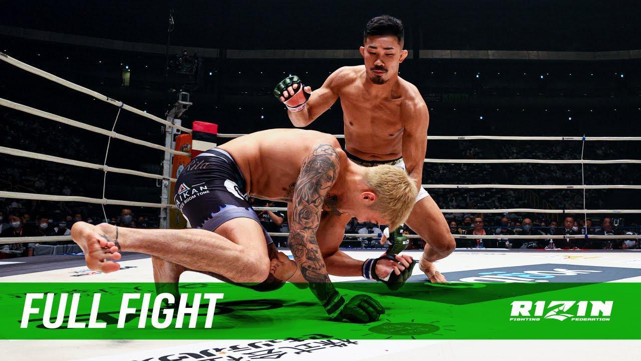 画像: Full Fight | 芦田崇宏 vs. 萩原京平 / Takahiro Ashida vs. Kyohei Hagiwara - RIZIN.24 youtu.be