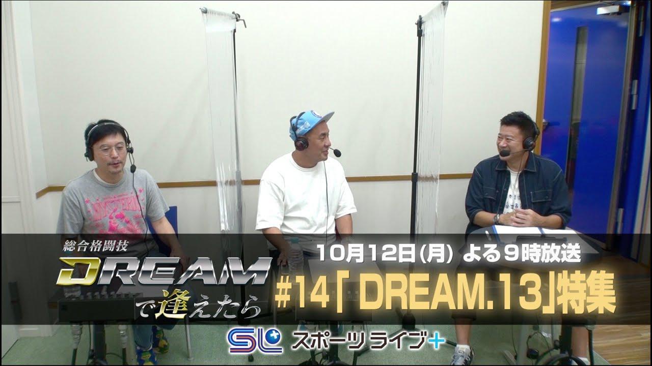 画像: 〜DREAM.13〜「総合格闘技 DREAMで逢えたら」by スカパー! | トレーラー youtu.be