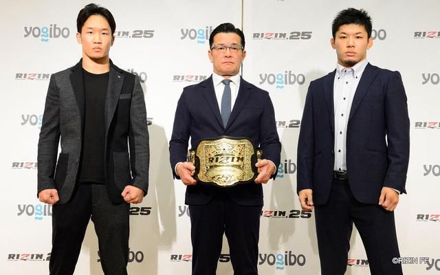 画像1: 朝倉未来vs.斎藤裕のRIZINフェザー級タイトルマッチが決定!