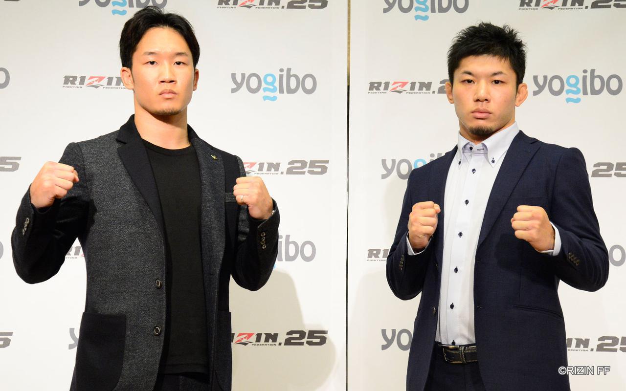 画像: フェザー級タイトルマッチ/朝倉未来 vs. 斎藤裕
