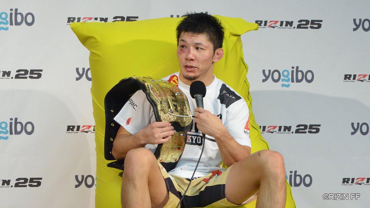 画像: Yogibo presents RIZIN 25 斎藤裕 試合後インタビュー youtu.be