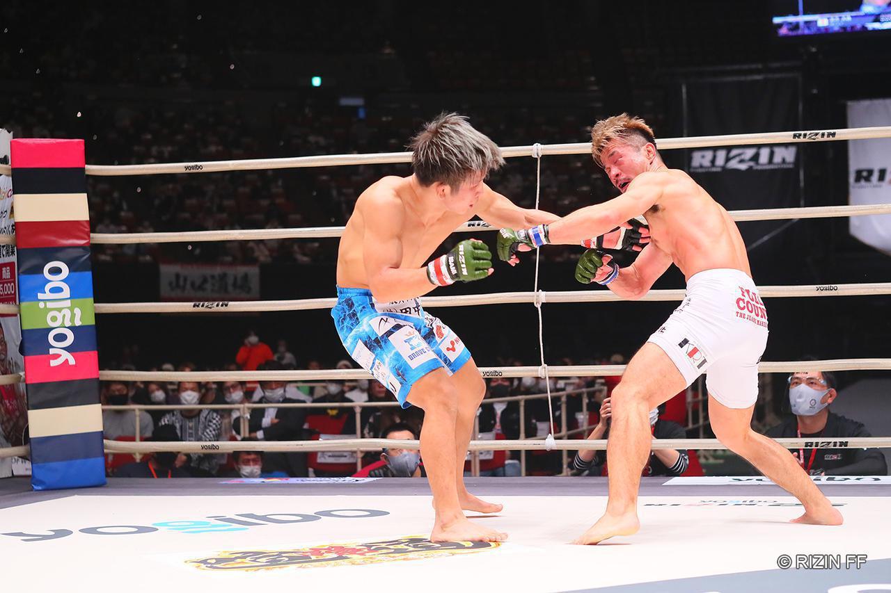 画像: 【試合結果】Yogibo presents RIZIN.25 第7試合/竿本樹生 vs. 北方大地 - RIZIN FIGHTING FEDERATION オフィシャルサイト
