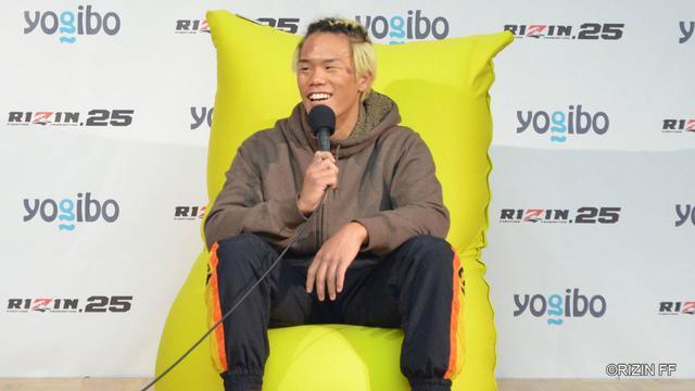 画像: Yogibo presents RIZIN 25 山口侑馬 試合後インタビュー youtu.be