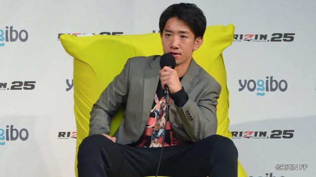 画像: Yogibo presents RIZIN 25 瀧澤謙太 試合後インタビュー youtu.be