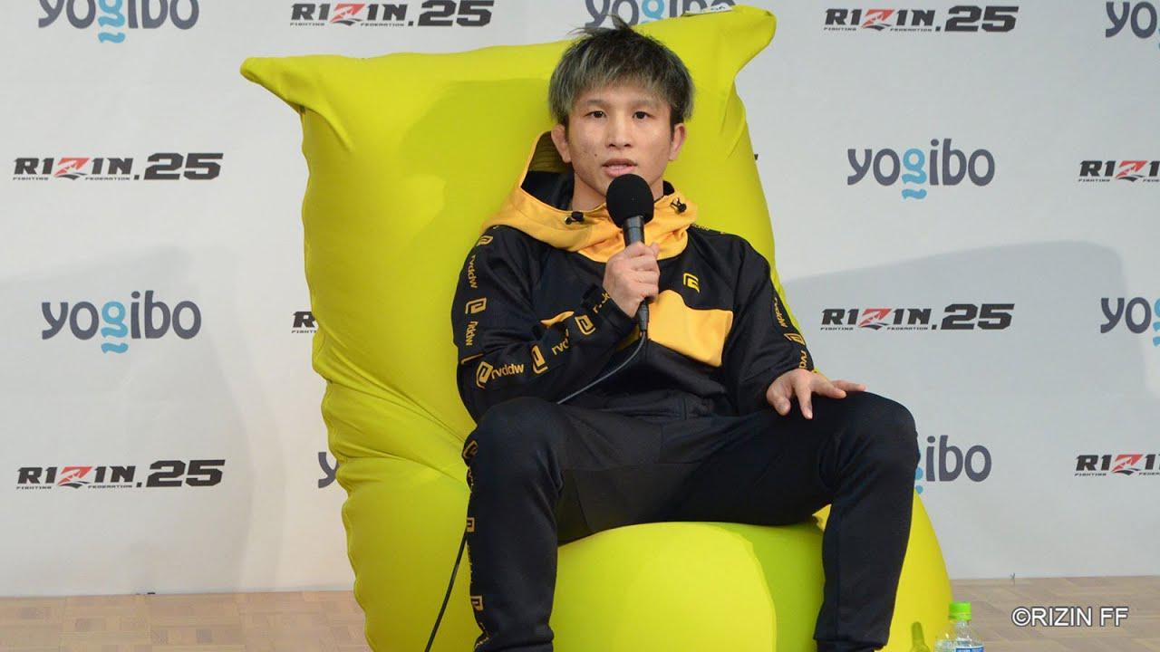 画像: Yogibo presents RIZIN 25 竿本樹生 試合後インタビュー youtu.be