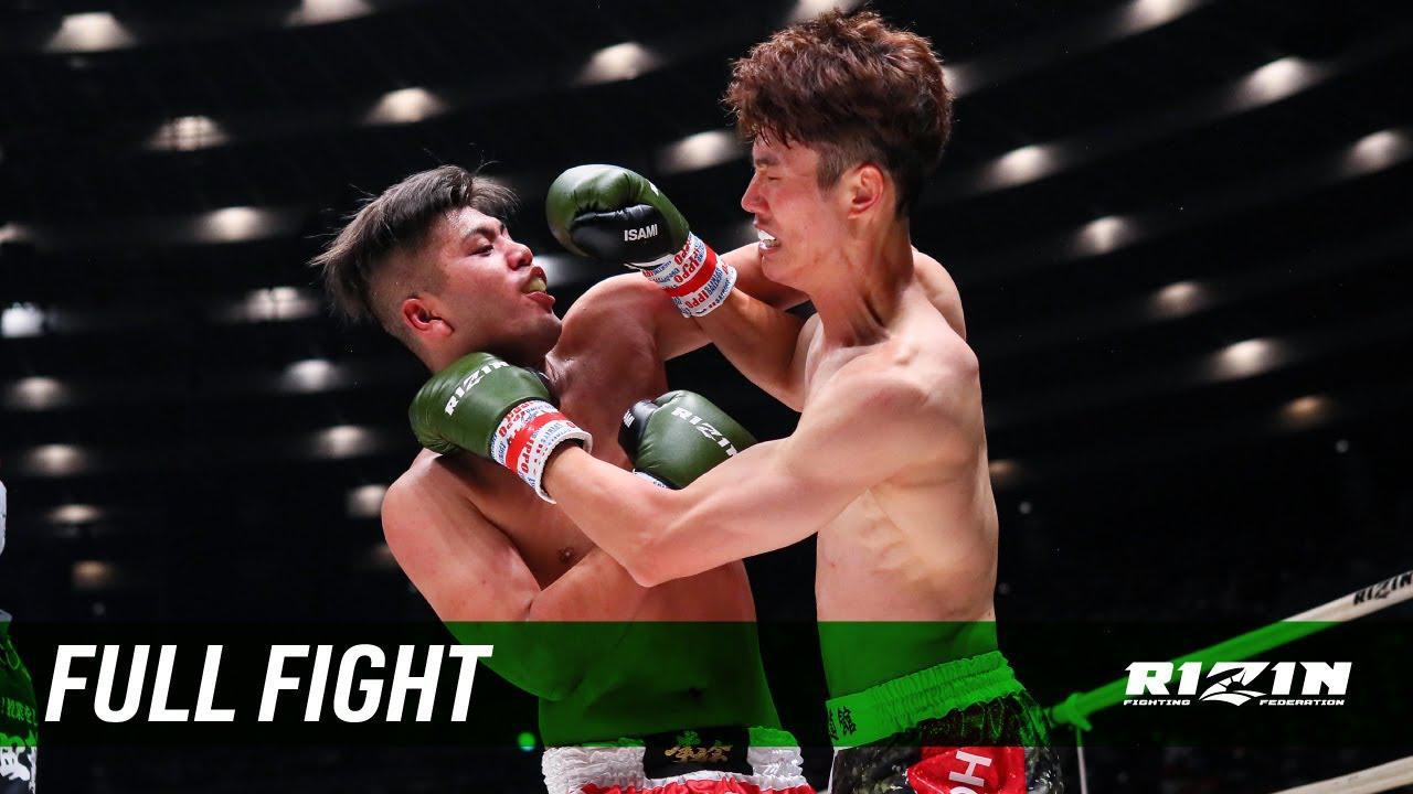 画像: Full Fight   江畑秀範 vs. 佐野勇海 / Hidenori Ebata vs. Isami Sano - RIZIN.25 youtu.be