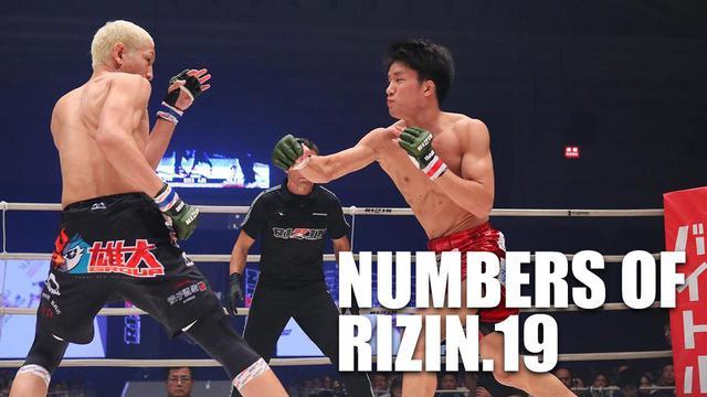 画像: NUMBERS OF RIZIN.19 〜数字で大会を振り返る〜 - RIZIN FIGHTING FEDERATION オフィシャルサイト