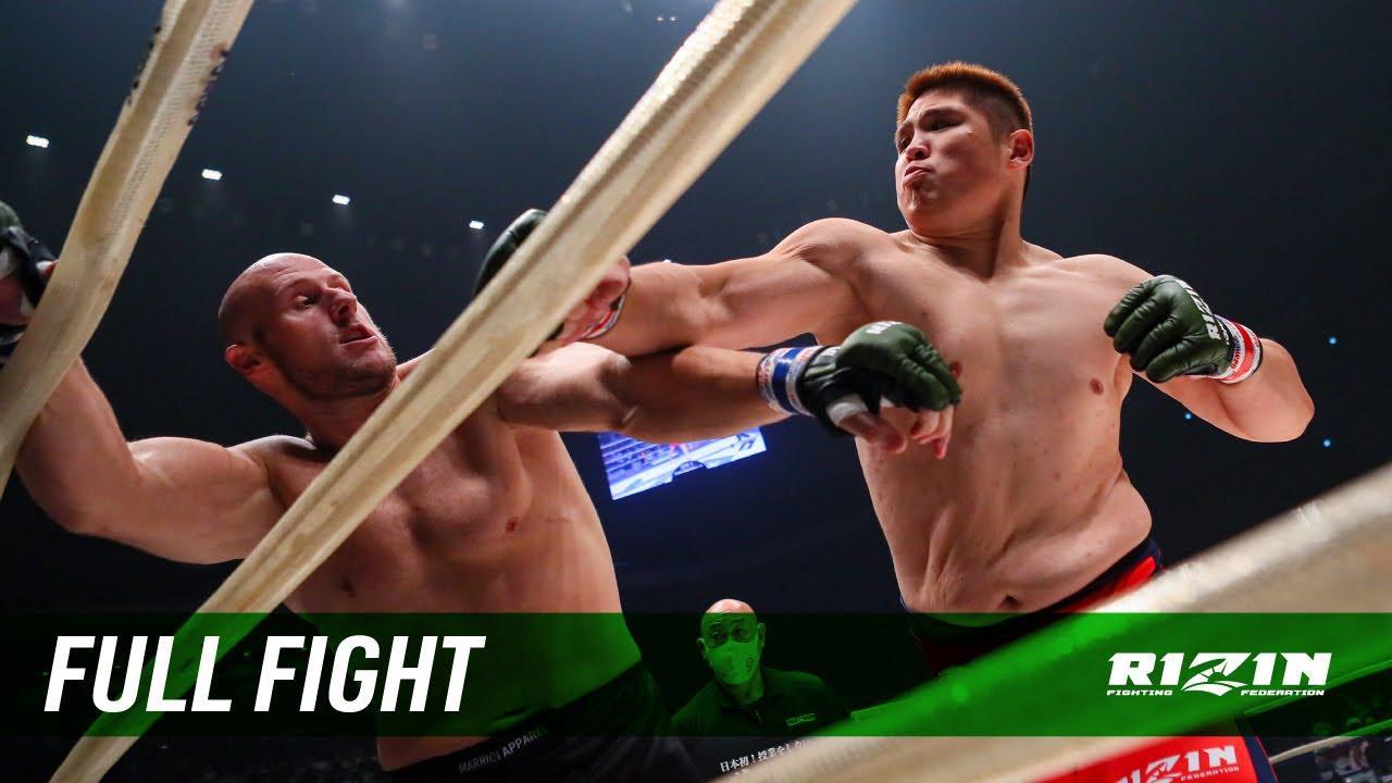 画像: Full Fight | スダリオ剛 vs. ディラン・ジェイムス / Sudario Tsuyoshi vs. Dylan James - RIZIN.24 youtu.be
