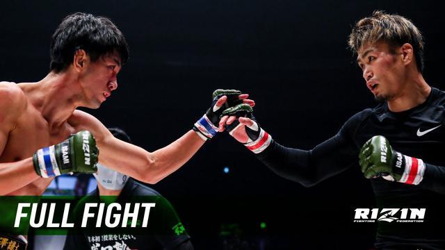 画像: Full Fight | 金太郎 vs. 瀧澤謙太 / Kintaro vs. Kenta Takizawa - RIZIN.24 youtu.be