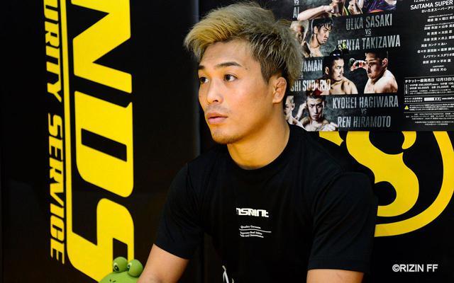 画像1: 太田忍「MMAに順応した太田忍を見せられれば」