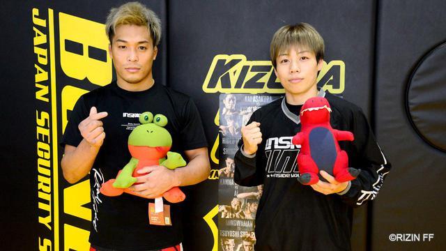 画像: 浜崎「勝って皆に喜んでもらいたい」太田「MMAに順応した太田忍を」Yogibo presents RIZIN.26 公開練習 - RIZIN FIGHTING FEDERATION オフィシャルサイト