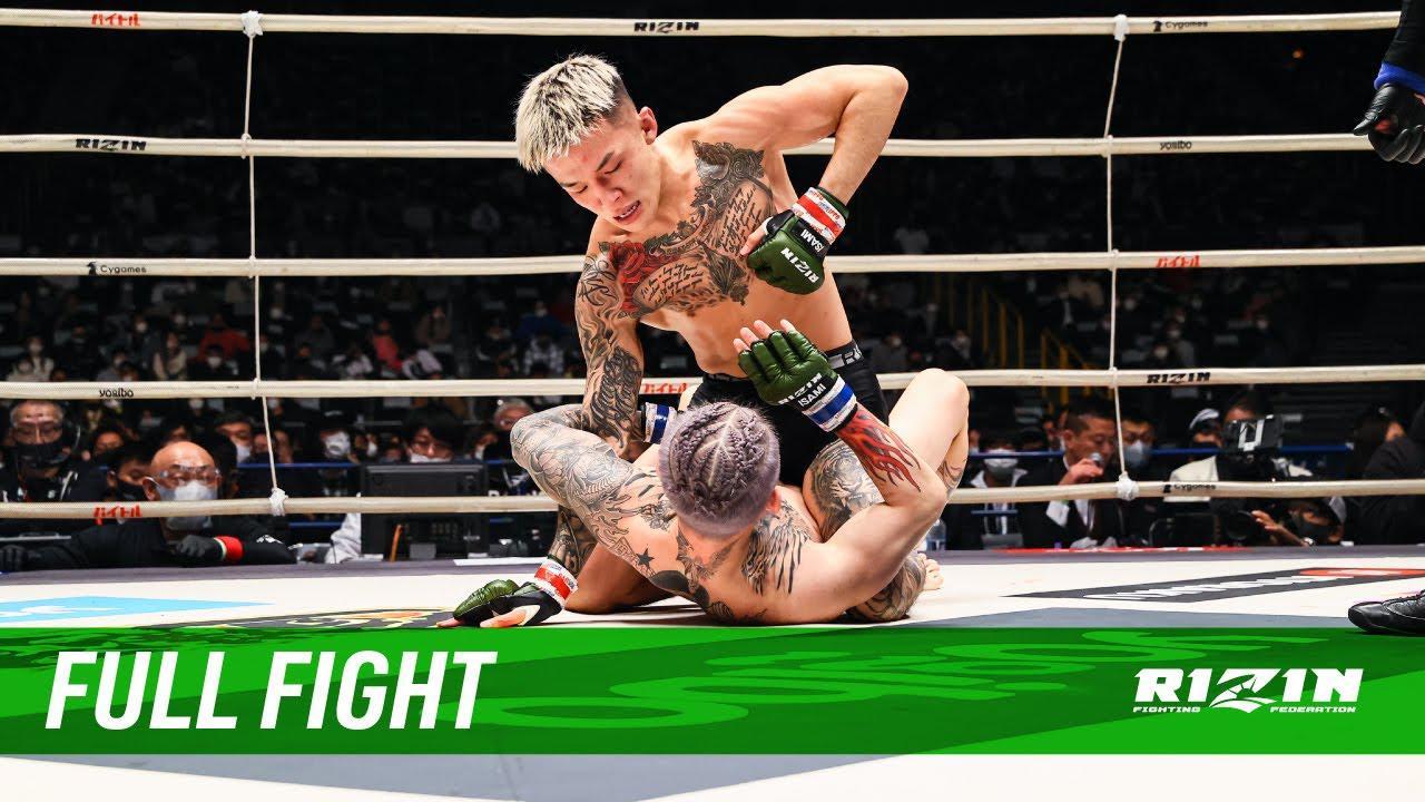 画像: Full Fight | 萩原京平 vs. 平本蓮 / Kyohei Hagiwara vs. Ren Hiramoto - RIZIN.26 youtu.be