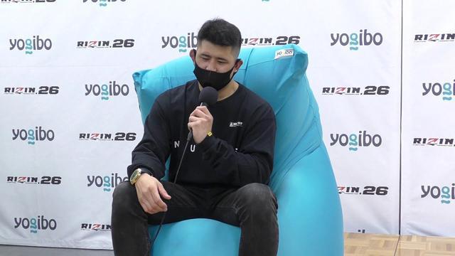 画像: Yogibo presents RIZIN.26 HIROYA(X) 試合後インタビュー youtu.be