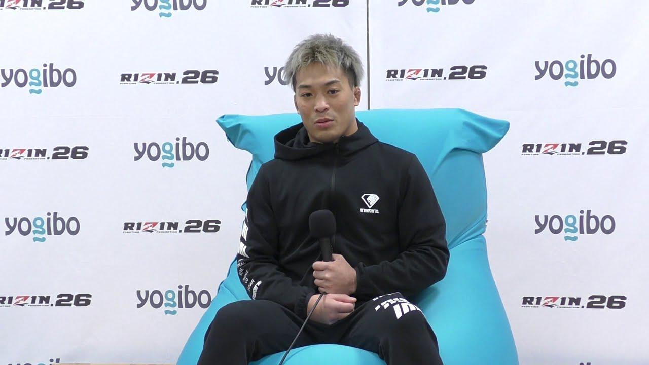 画像: Yogibo presents RIZIN.26 太田忍 試合後インタビュー youtu.be