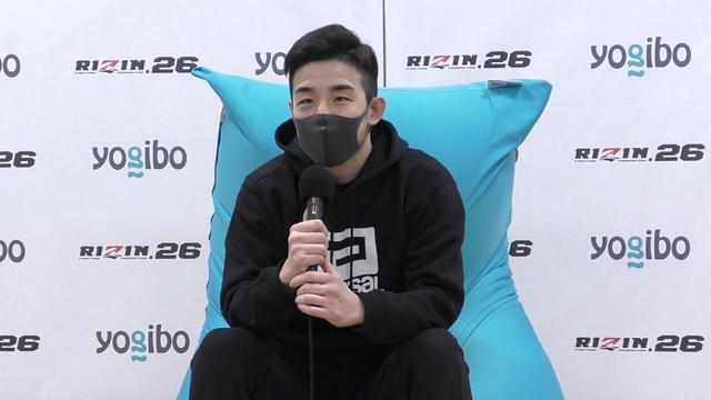 画像: Yogibo presents RIZIN.26 中原太陽 試合後インタビュー youtu.be