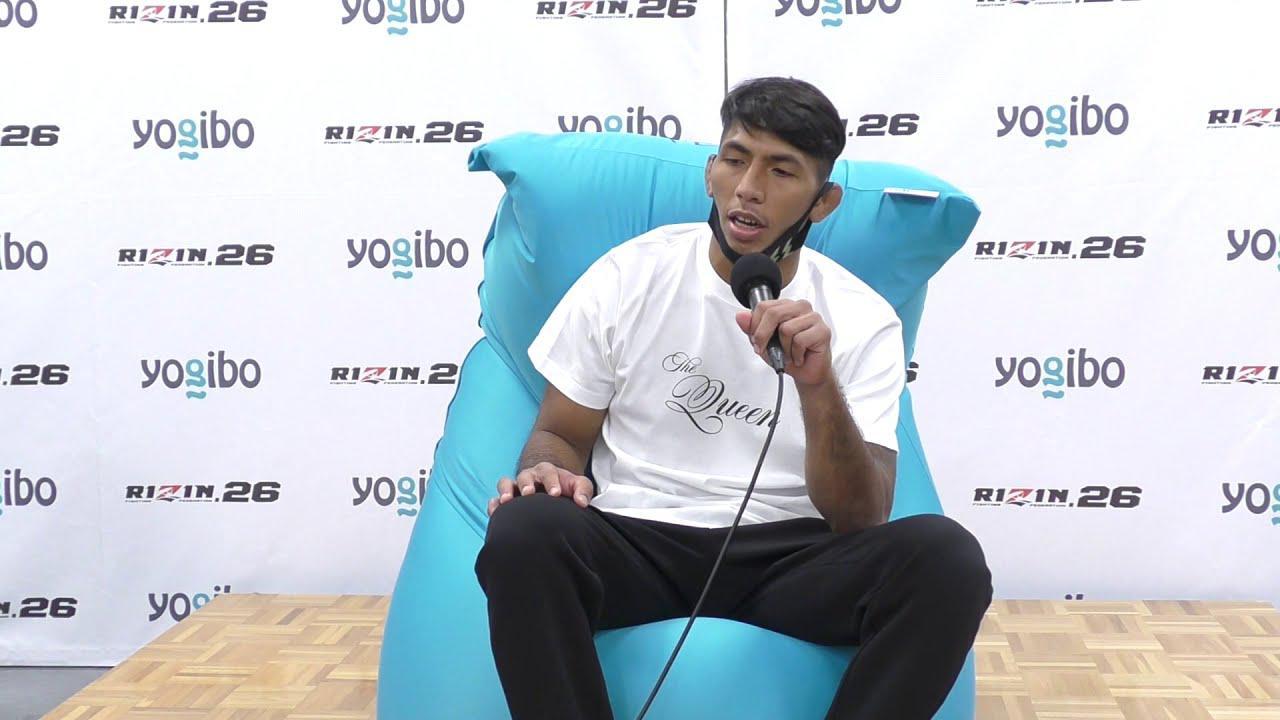 画像: Yogibo presents RIZIN.26 カイル・アグォン 試合後インタビュー youtu.be