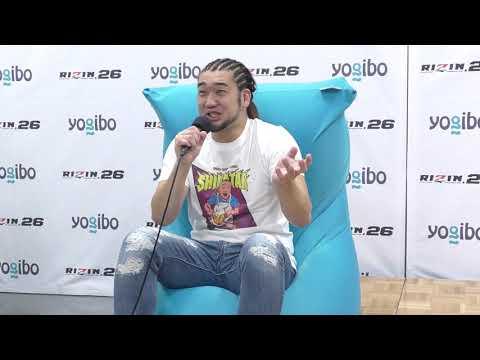 画像: Yogibo presents RIZIN.26 シバター 試合後インタビュー youtu.be
