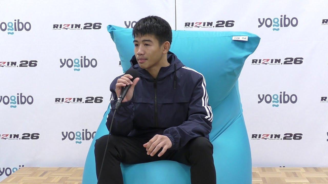 画像: Yogibo presents RIZIN.26 ペットマライ・ペットジャルーンウィット 試合後インタビュー youtu.be