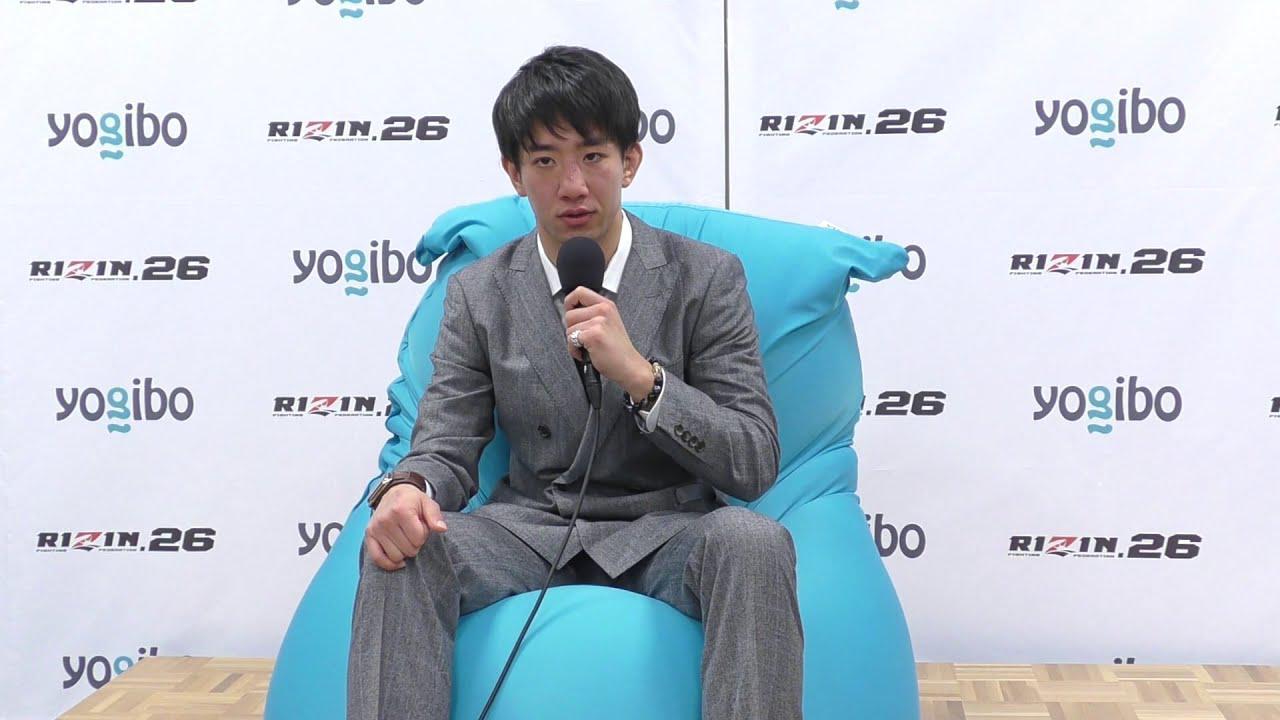 画像: Yogibo presents RIZIN.26 瀧澤謙太 試合後インタビュー youtu.be