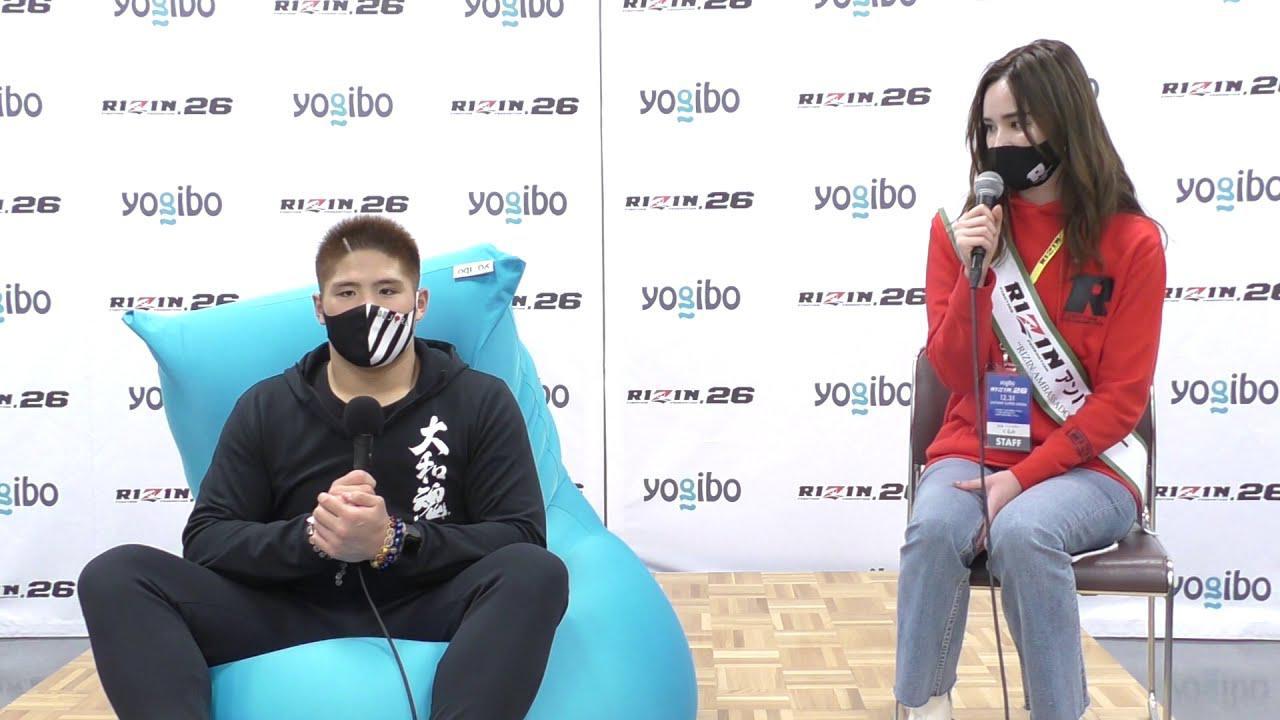 画像: Yogibo presents RIZIN.26 スダリオ剛 試合後インタビュー youtu.be