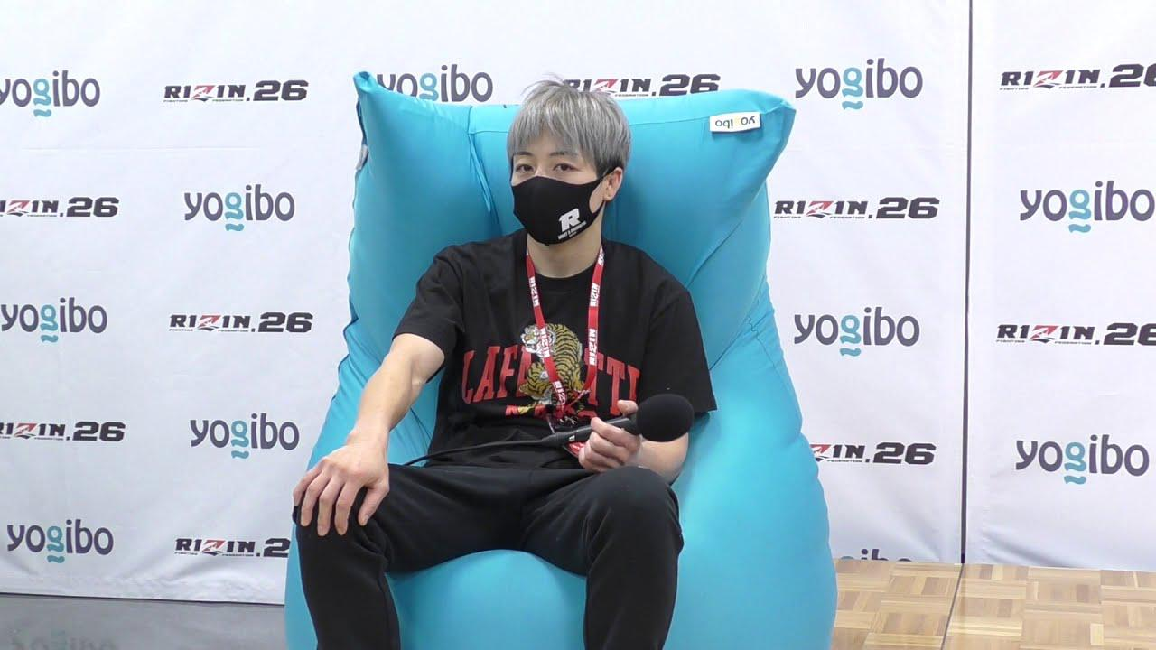 画像: Yogibo presents RIZIN.26 浜崎朱加 試合後インタビュー youtu.be