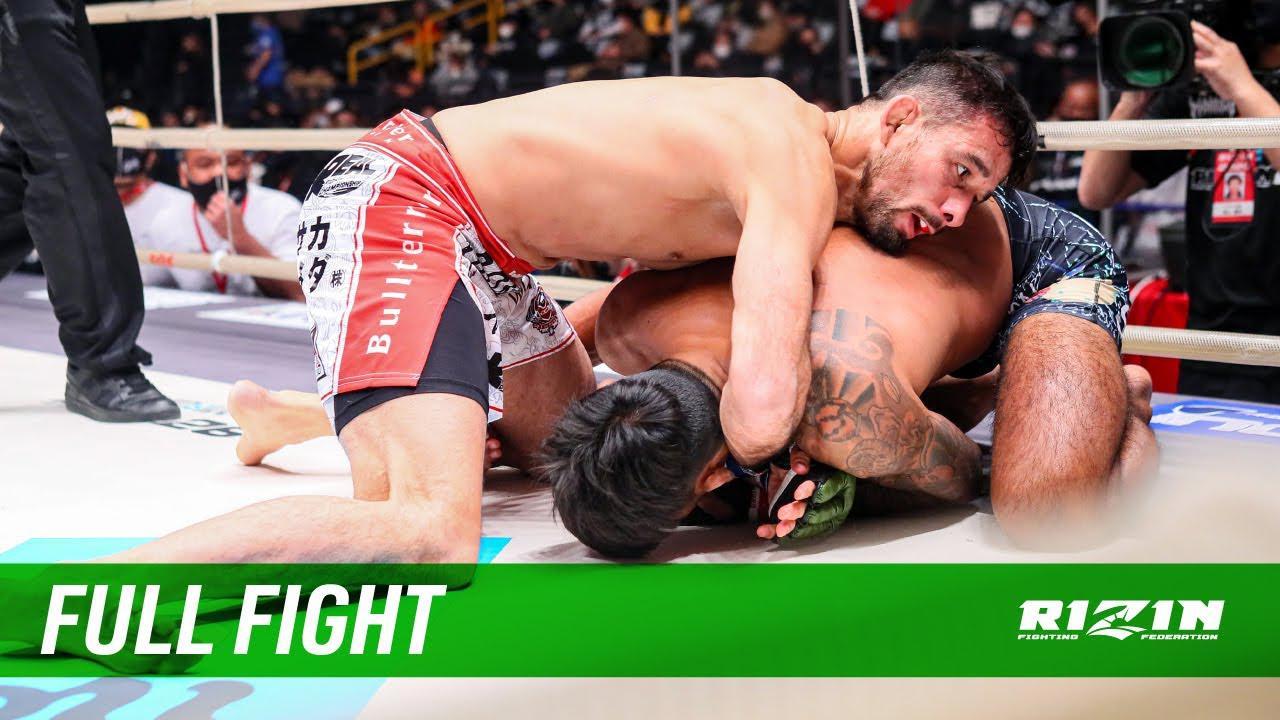 画像: Full Fight   カイル・アグォン vs. クレベル・コイケ / Kyle Aguon vs. Kleber Koike - RIZIN.26 youtu.be