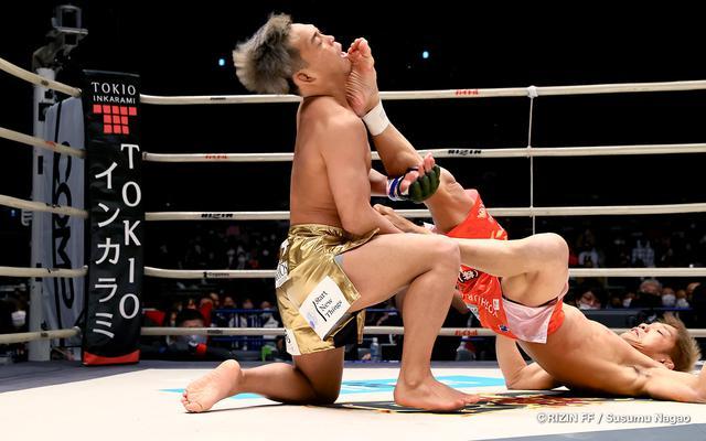 画像5: まさに異種格闘技戦?!寝技の所vs.レスリング太田の攻防
