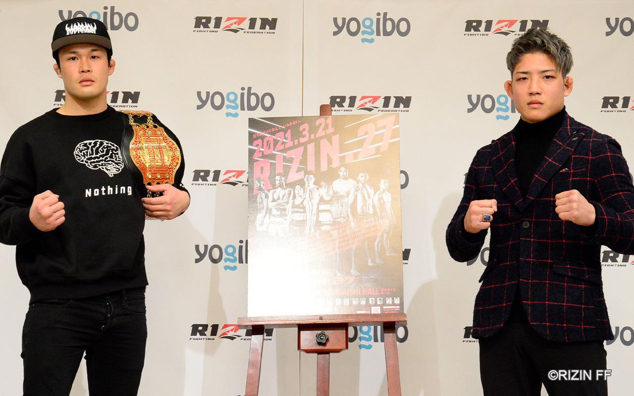 画像: 左:関鉄矢、右:堀江圭功