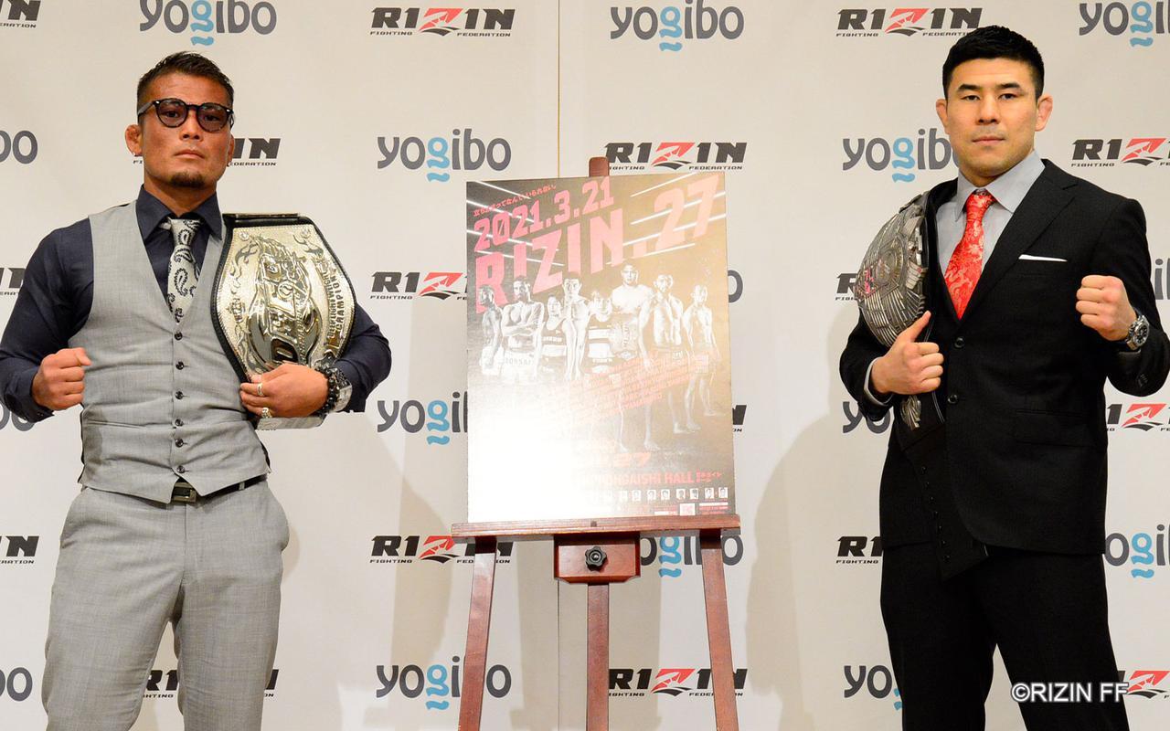 画像: 左:武田光司、右:久米鷹介
