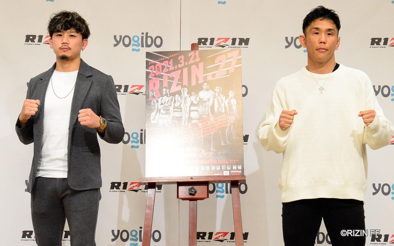 画像: 左:獅庵、右:祖根寿麻