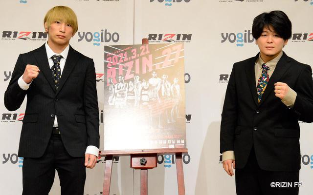 画像: 左:渡部修斗、右:田丸匠
