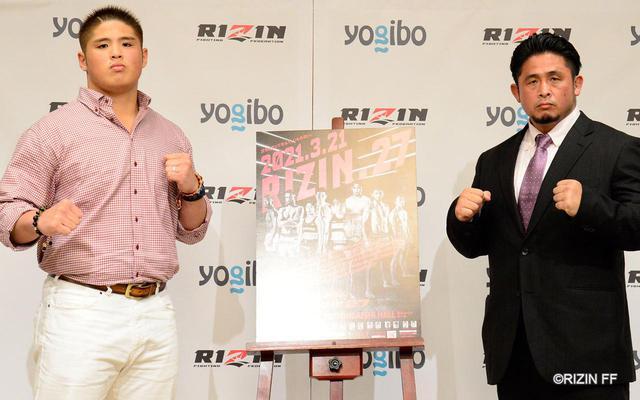 画像: 左:スダリオ剛 、右:宮本和志