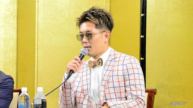 画像: 皇治の電撃参戦が決定!「ファンに新しい景色を見せるためここへ来た」 jp.rizinff.com