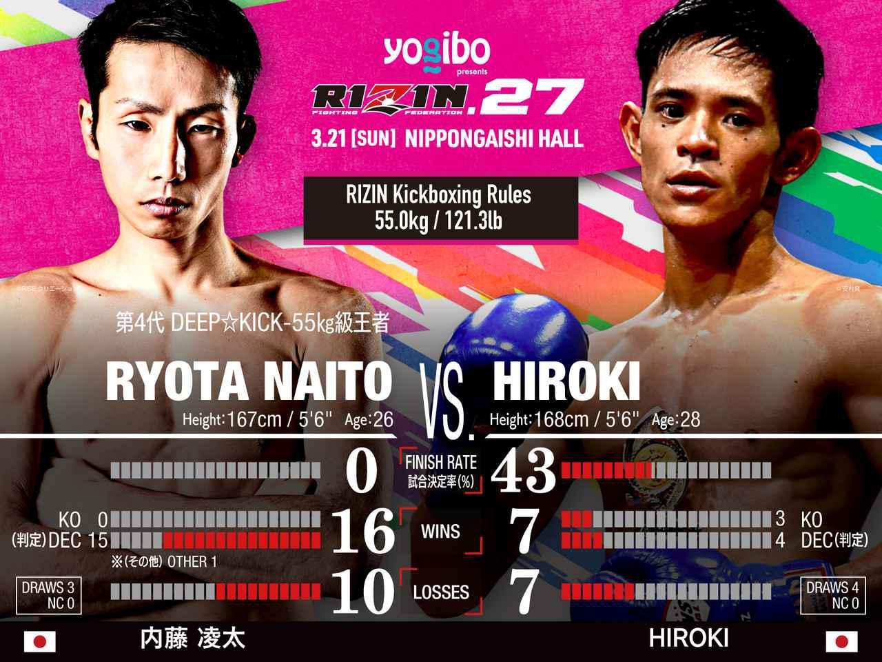 画像: スペシャルワンマッチ 内藤凌太vs. HIROKI